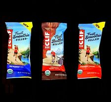 80 CLIF ENERGY BAR STRAWBERRY BANANA WILD BLUEBERRY ACAI CHOCOLATE PEANUT BUTTER