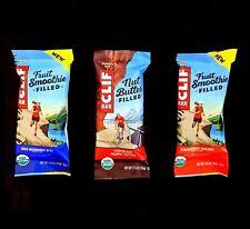 80 CLIF ENERGY BAR STRAWBERRY BANANA WILD BLUEBERRY ACAI CHOCOLATE PEANUT BUTTER