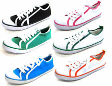 Zapatos planos de mujer textil de color principal multicolor