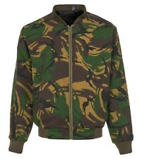 camouflage bomber jacket fully lined men's sizes M L XL XXL