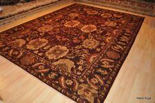 9x12 ft. Persian design handmade vegetable dye maroon Burgundy  TOP QUALITY RUG