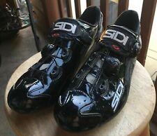 Sidi Wire Carbon Black Vernice Road Shoe Black Euro 44.5