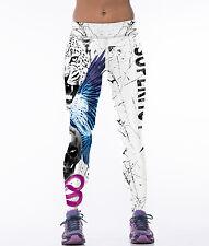 Women 3D Print YOGA Gym Sports Leggings Running Fitness Pants Workout Trousers