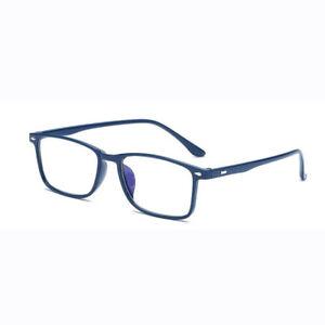 Reading Glasses TR90 Full Frame Rectangular Glasses +1.00 ~ +4.00 For Elder