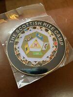 Masonic AASR Camp Car Emblem