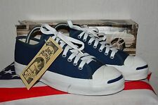 Converse Jack Purcell Vintage Rare Canvas Deadstock OG MADE IN USA 6.5 NWB