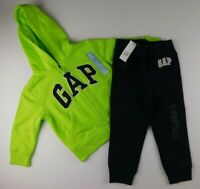 NWT Gap Boy's Baby Toddler Outfit Hoodie Joggers 6-12M MSRP $44 New Fre Shipping