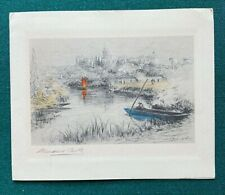 More details for antique signed christmas card autograph of queen mary wife of king george v 1930