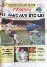 L'Equipe Journal 9-10/02/1991; Melun-Senart/ PSG-Marseille/ Léonard/ Judo; Nowak