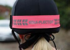 SHIRES EQUI-FLECTOR HAT BAND ONE SIZE PINK
