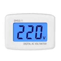 LCD AC110V 220v Digital Voltmeter EU US Plug Volt Meter Socket Voltage Tester