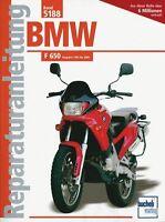 BMW F 650 1993-2000 Reparaturanleitung Reparatur-Handbuch Reparaturbuch Wartung
