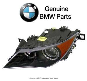 For BMW E63 E64 6-Series Driver Left Headlight Assy Bi-Xenon Genuine 63127165985