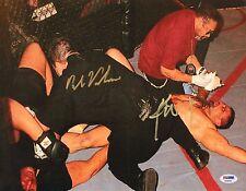 Paul Varelans & Kimo Leopoldo Signed 11x14 Photo PSA/DNA UFC Ultimate 1996 UU96