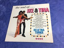 "IKE & TINA TURNER (12""LP) THE SOUL OF IKE & TINA [UK 1984 **KENT COMPILATION] EX"