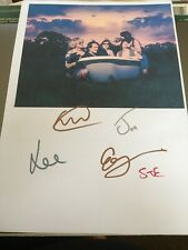 CABBAGE SIGNED PICTURE PAGE FROM NME TOUR BIRMINGHAM