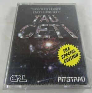 Tau Ceti - Amstrad DISK - TESTED (E)