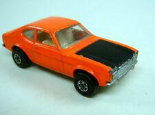 Matchbox Superfast Nr. 54B Ford Capri orange & matt schwarz
