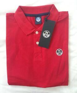North Sails Poloshirt Polo XL Herren rot Neu mit Etikett