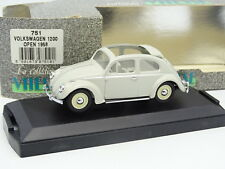 Vitesse 1/43 - Scarabeo di VW Coccinelle 1200 Open 1958 Grigia