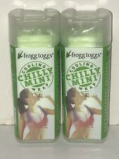 """Cooling Towel Neck Wrap Chilly Mini Frogg Toggs (2-Pack) 3"""" x 29"""" FREE FAST SHIP"""