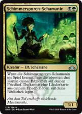 4 Glowspore Shaman / Schimmersporen-Schamanin (mint Gilden von Ravnica, deutsch)