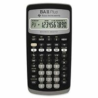 Texas Instruments BA II Plus Financial Calculator F/S w/Tracking# New from Japan