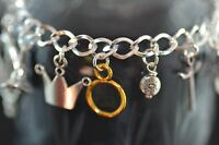 BL004 The Lord Of The Rings Bracelet, Hobbit, Gandalf, Fellowship, Fan Gift