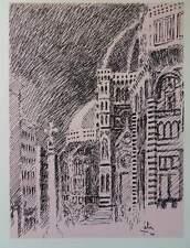 Louis FABIEN - Italie Florence  - gravure signée #322ex + justificatif