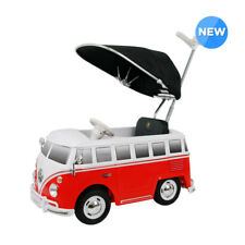 Kids Ride-on's Push Car  Volkswagen Micro Bus Push-Car wit Canopy Secret Window