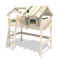 WICKEY CrAzY Cove Kinderbett mit Dach 90x200 cm Spielbett Hochbett Etagenbett