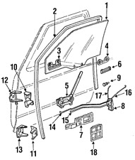 Genuine GM Handle Inside 15590990
