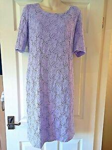 Precis Petite Lilac  Dress -Size 14
