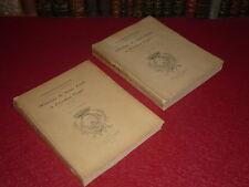 [LYON] CORRESPONDANCE PRESIDENT DUGAS & Mr de SAINT FONDS 1715-1739 2vol Rare EO