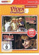 Pippi Langstrumpf Pippi außer Rand und Band im Takka Tukka Land 2 DVDs NEU