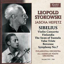 Jascha Heifetz (violin) - Stokowski conducts Sibelius, including an [CD]