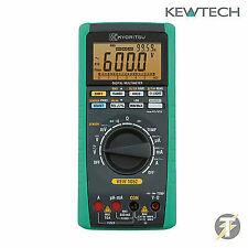 Kewtech Kyoritsu KEW1052 True RMS Data Logging Digital Multimeter
