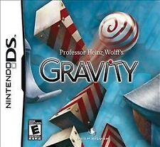 PROFESSOR HEINZ WOLFF'S GRAVITY Nintendo DS video game COMPLETE