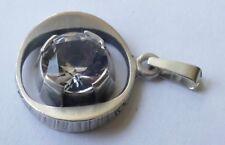 Sten & Laine Anhänger 925 Silber geschwärzt Finnland Vintage 70er Pendant silver