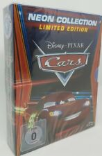 Cars Neon Collection 1 + 2 + Toon Hooks, Limited Edition Disney Blu-Ray NEU OVP