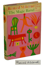 The Magic Barrel by BERNARD MALAMUD ~ SIGNED First Edition 1958 ~ JPS 1st Print