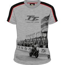 Official Isle of Man TT Grey Grandstand T'Shirt