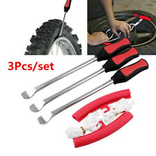 3Pcs Carbon Steel Motorcycle Bicycle Tire Pick Up Spoon Tire Replacement Tool