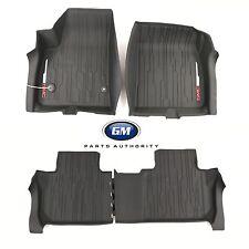 17-18 GMC Acadia Floor Liner Package Jet Black Front & Rear Genuine OEM GM