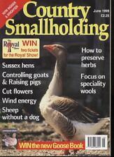 COUNTRY SMALLHOLDING MAGAZINE - June 1999