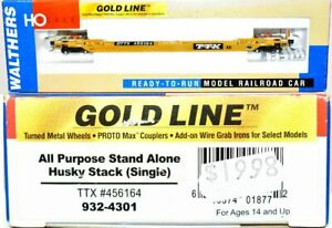 TTX 456164 All Purpose Husky Stack Walthers Gold Line 932-4901 HO Scale MY7.11