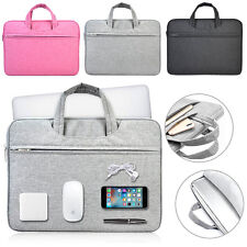 """Nylon Handle Carry Pouch Laptop Sleeve Bag Case For 11.6"""" 13"""" 14"""" 15"""" Ultrabook"""