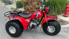 Rare 1984 Honda ATC200ES ATV Three Wheeler With High/Low And Revers Mint