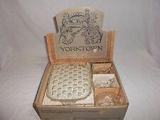 Vintage 8 Pc 1960s Federal Glass Company Yorktown Snack Set in original box