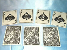 "VIETNAM WAR ACE OF SPADES  "" DEATH CARD""  12  EACH FOR  ONLY $12.95 IN PLASTIC"